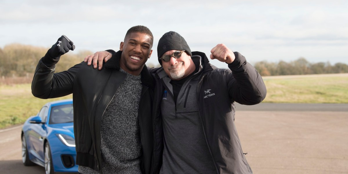 Battle of the Heavyweights! Anthony Joshua and Bill Goldberg to feature on The Grand Tour