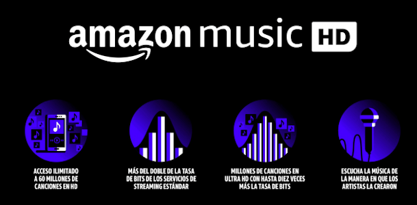 amazon music HD - streamingindiretta