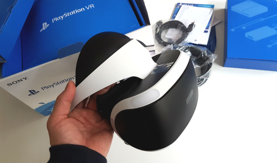 StreamRocket unboxing Playstation VR