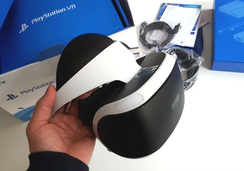 StreamRocket unboxing Playstation VR