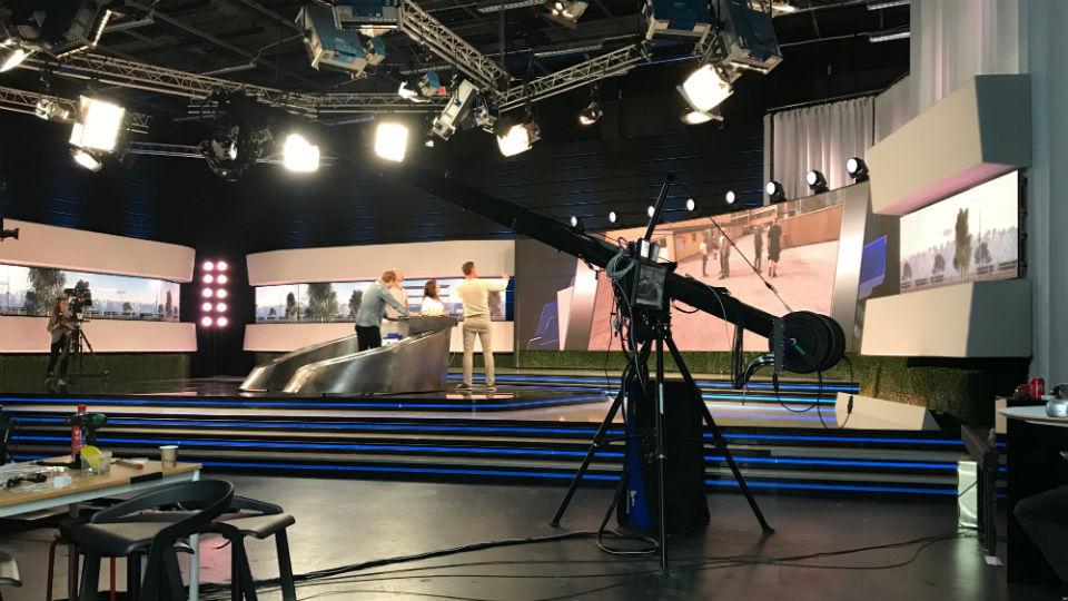 Behind the scenes V75 Direkt