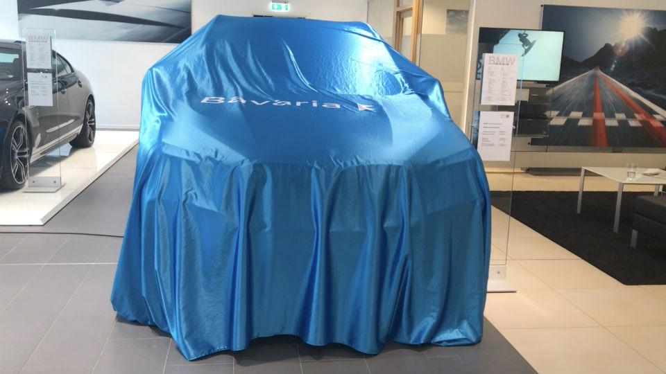 Exklusiv förhandsvisning BMW X3