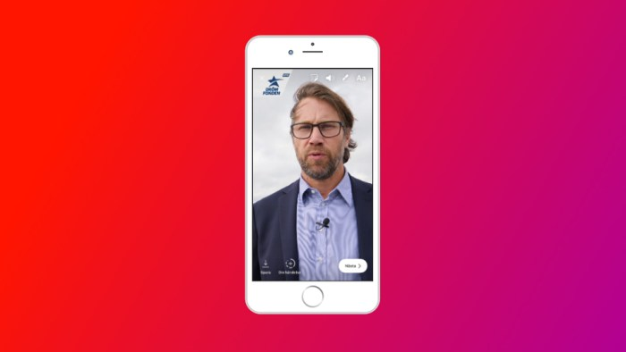 Video för Instagram Stories