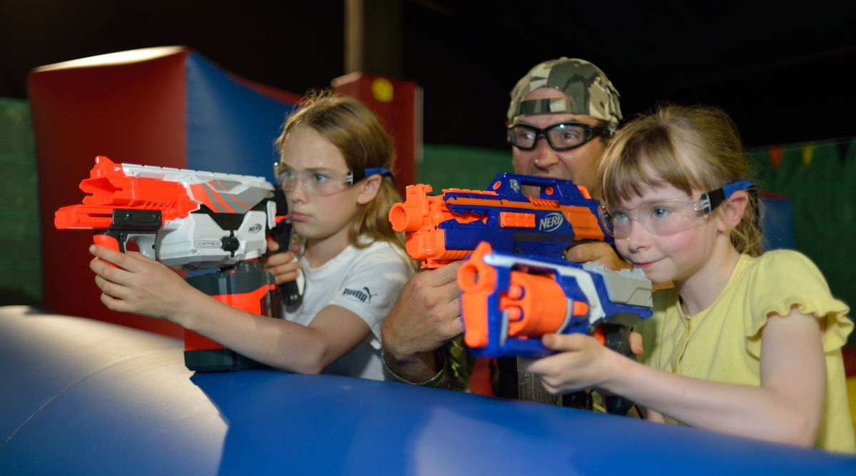 Nerf Tournament in Hamalandhal