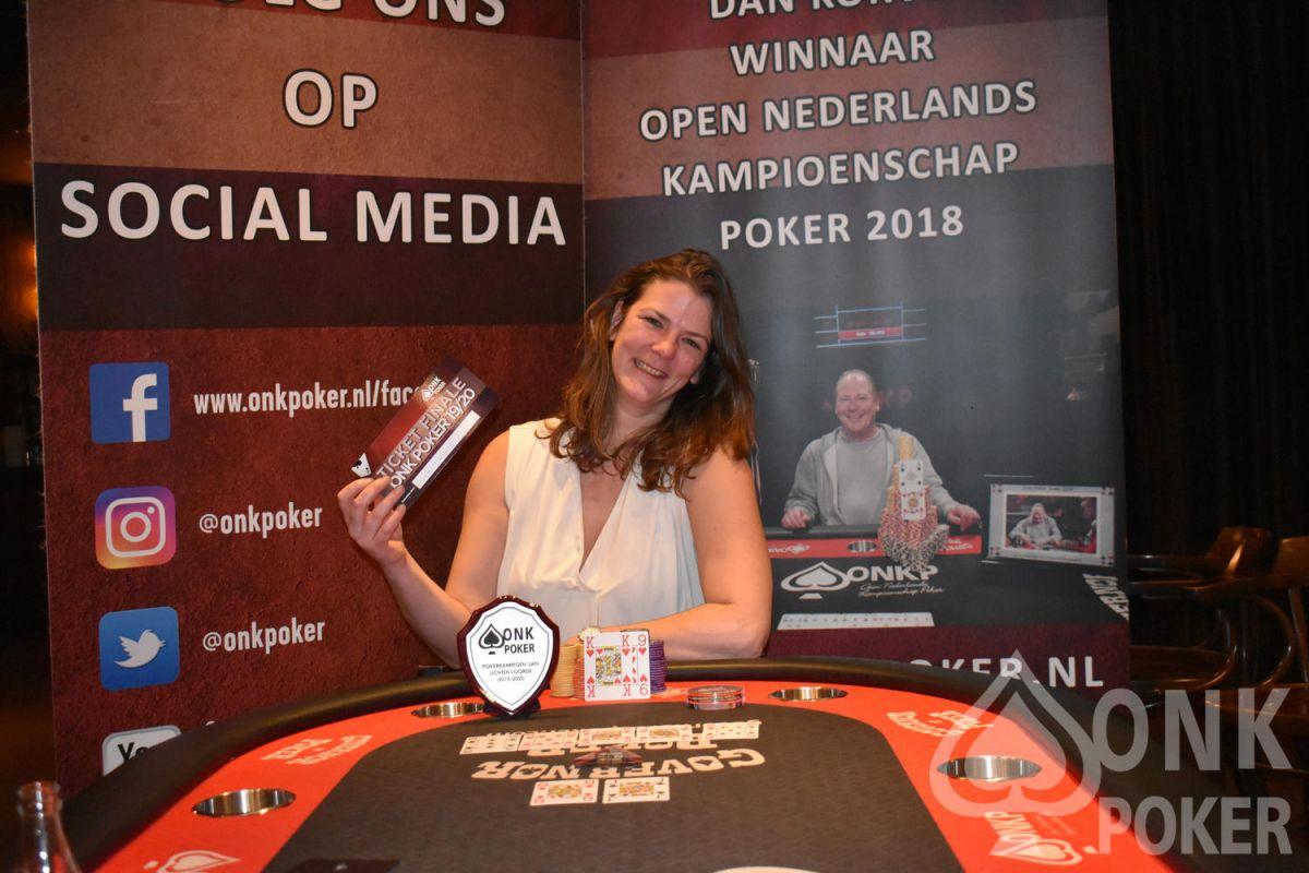 Nynke Ruinard is Pokerkampioen van Lichtenvoorde