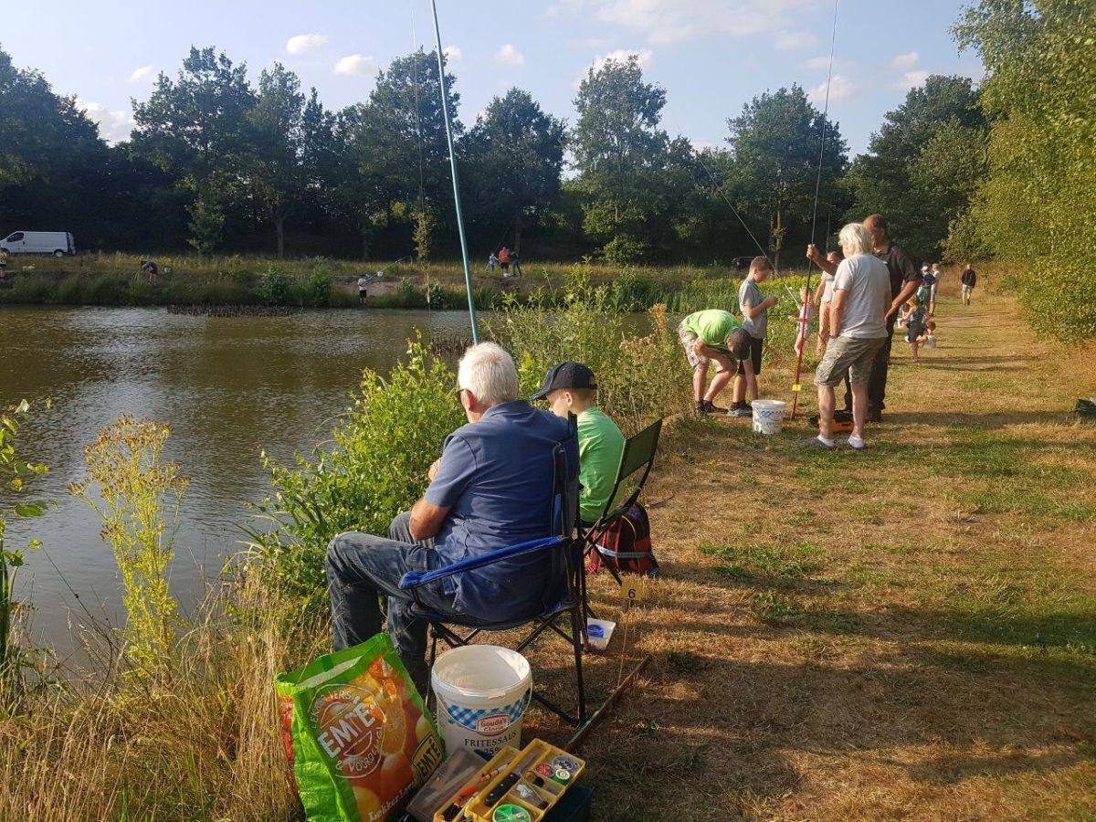 Gratis vissen voor de jeugd