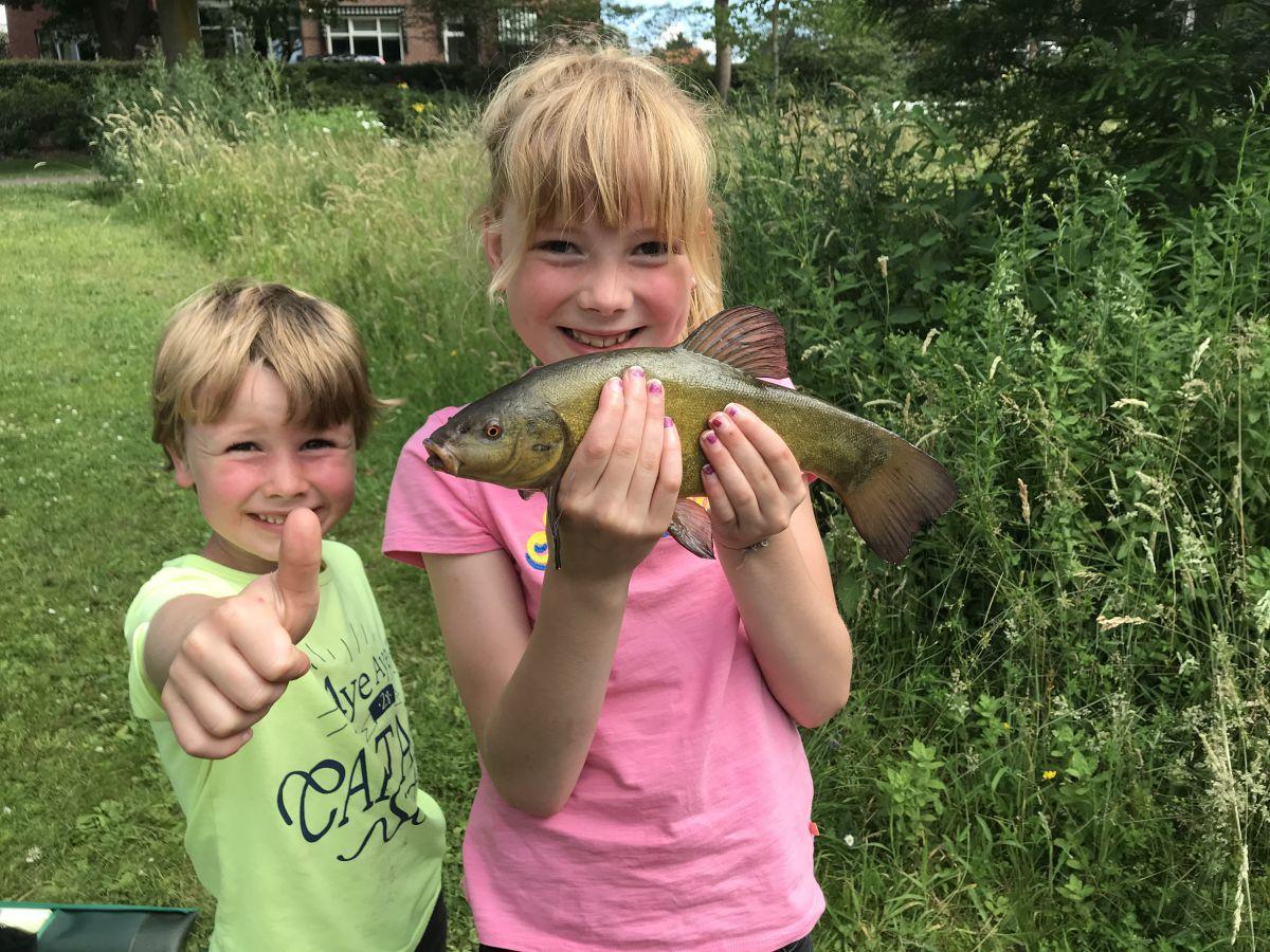 Jeugd kan gratis vissen deze zomer aan de vijvers en stadsgracht