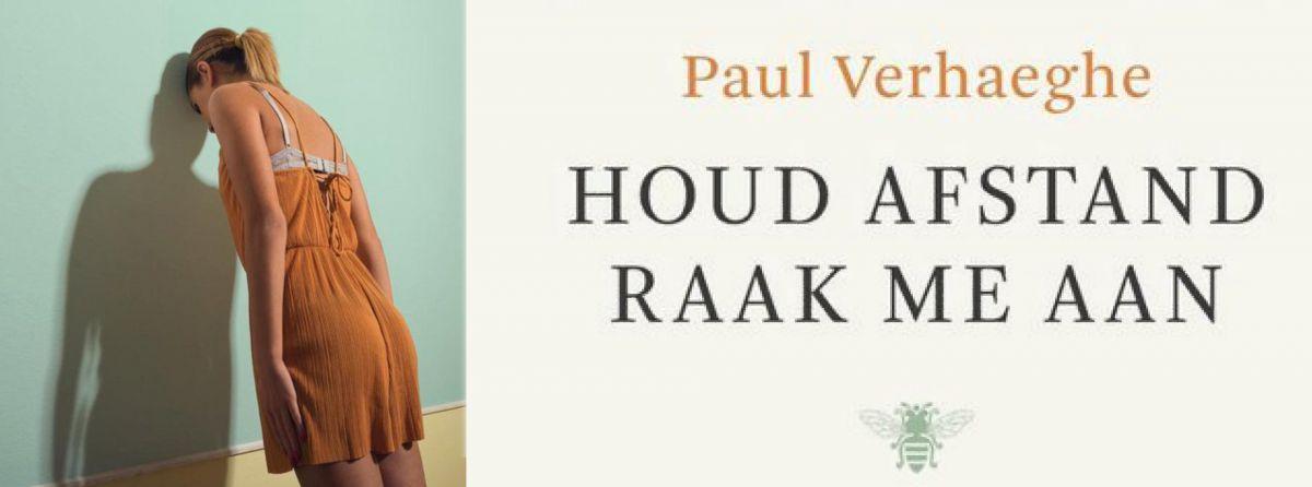 Leesclub over 'Houd afstand, raak me aan' van Paul Verhaeghe