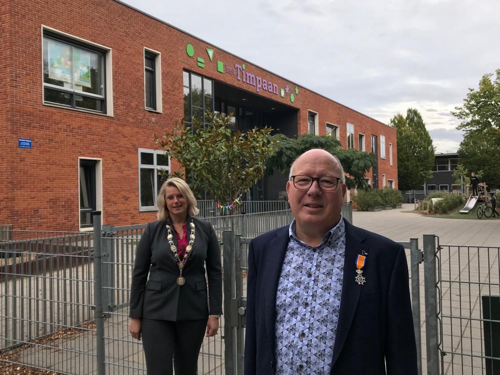 Koninklijke Onderscheiding aan de heer W.G. Derksen uit Lichtenvoorde