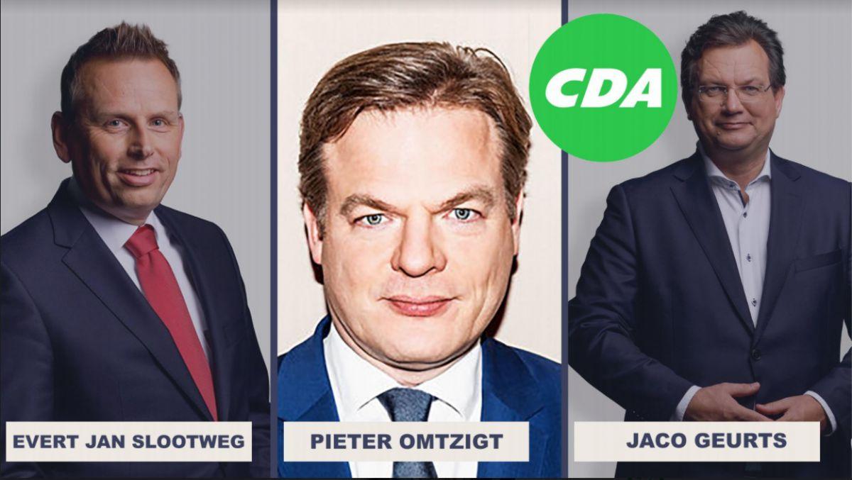 Drie CDA Kamerleden komen naar de Achterhoek