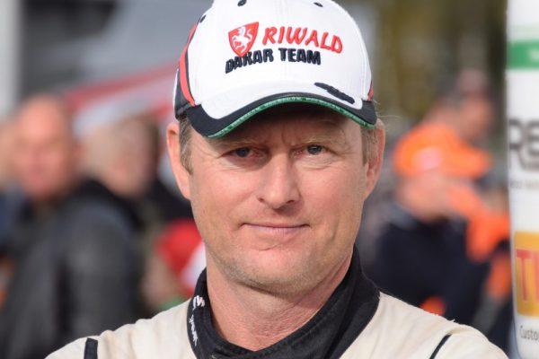 """Dirk Schatorie opnieuw in """"le Dakar""""."""