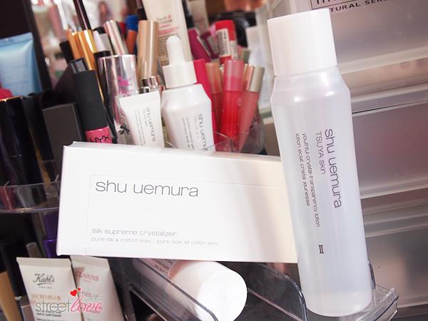 Shu Uemura TSUYA Skin Youthful Crystal-Transparency Lotion and Silk Supreme Crystallizer
