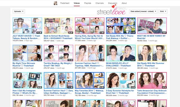 YouTube Favourite 20 ThatsHeart