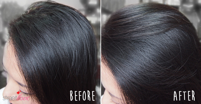 Batiste Dry Shampoo Blush Before and After 1v2