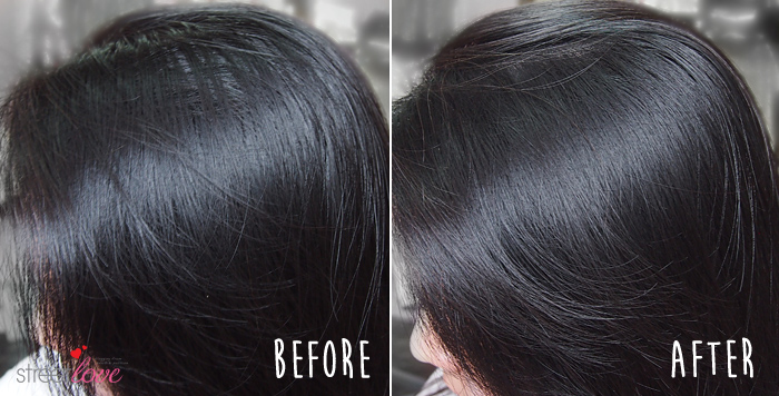 Batiste Dry Shampoo Blush Before and After 3