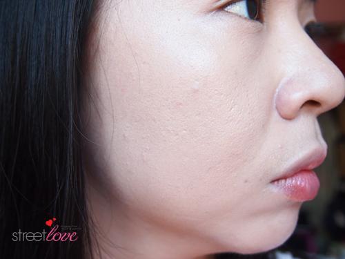 Estee Lauder Futurist Aqua Brilliance Compact Makeup as Concealer After