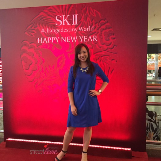 50450 Short Flared Dress SK-II Event