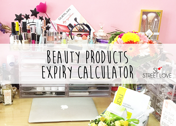 Beauty Products Expiry Online Calculator