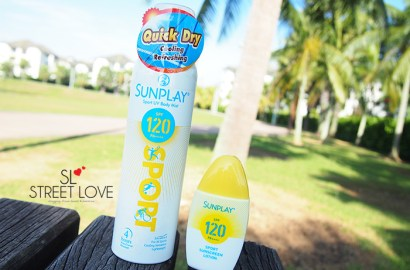 Sunplay Sport UV Body Mist and Lotion