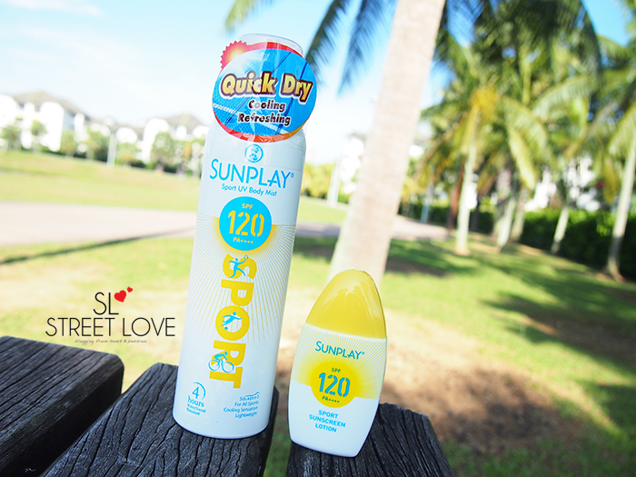 Sunplay Sport UV Body Mist and Lotion