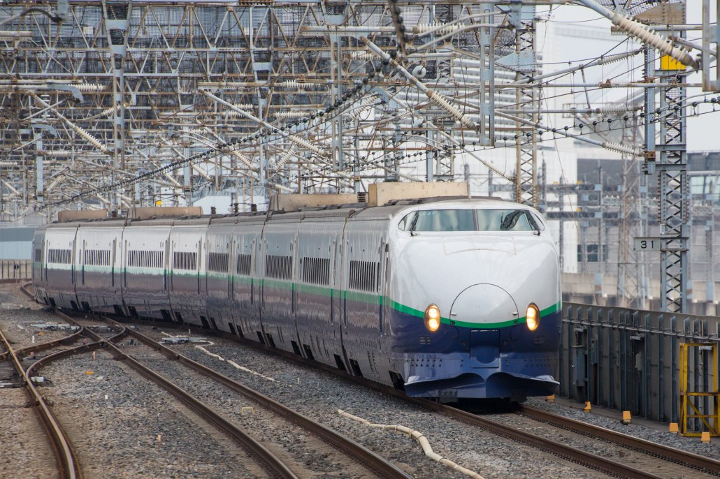 JR East Japan Shinkansen series 200