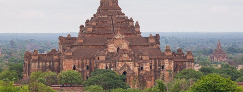 Myanmar Bagan old temple