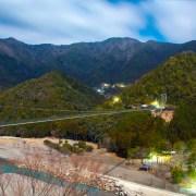 十津川村 日本一の谷瀬の吊り橋 Totsukawa