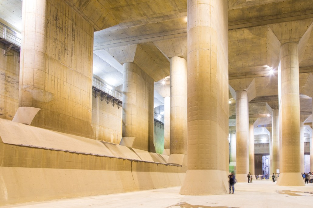 Metropolitan Area Outer Underground Discharge Channel(首都圏外郭放水路)