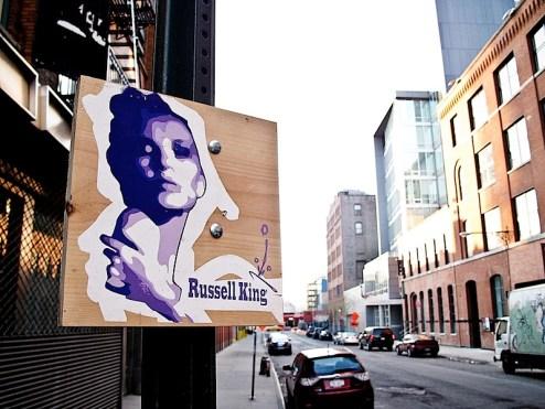 street art by russell king
