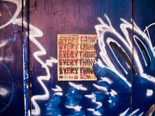 everything everything street art in NYC