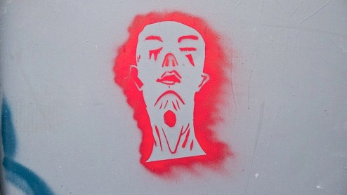 stencil art in NYC