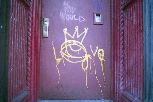 street art by you would and nobody in the lower east side of nyc