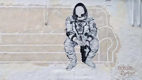 nicholas forker spaceman astronaut found in SoHo nyc