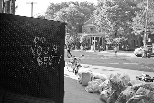 do your best graffiti in the east village of NYC
