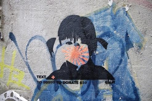 help Japan street art