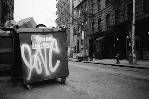 graffiti by curtis kulig aka love me found in soho, nyc