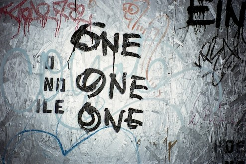 one one one graffiti found in NYC