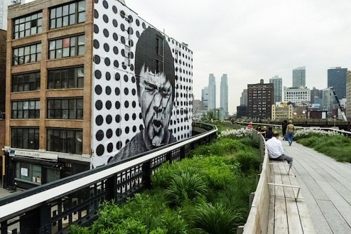 jr on the highline in nyc