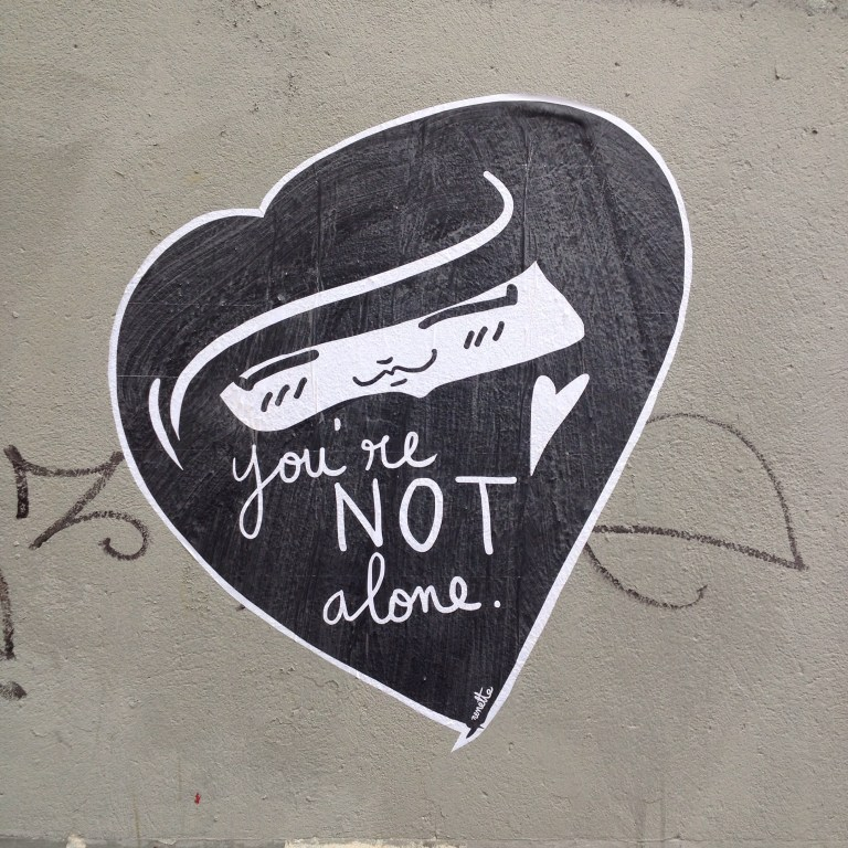 You're not alone - Nenette
