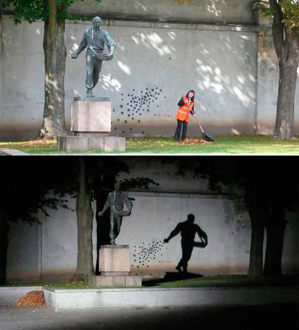 The Seeder - Street Art in Kaunas, Litauen