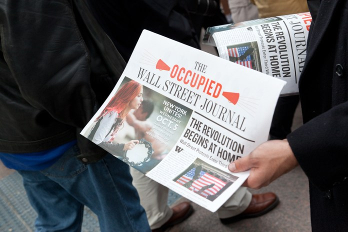 Occupy Wall Street – A Collection