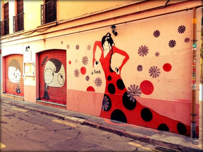 Street Art in Valencia, Spain!