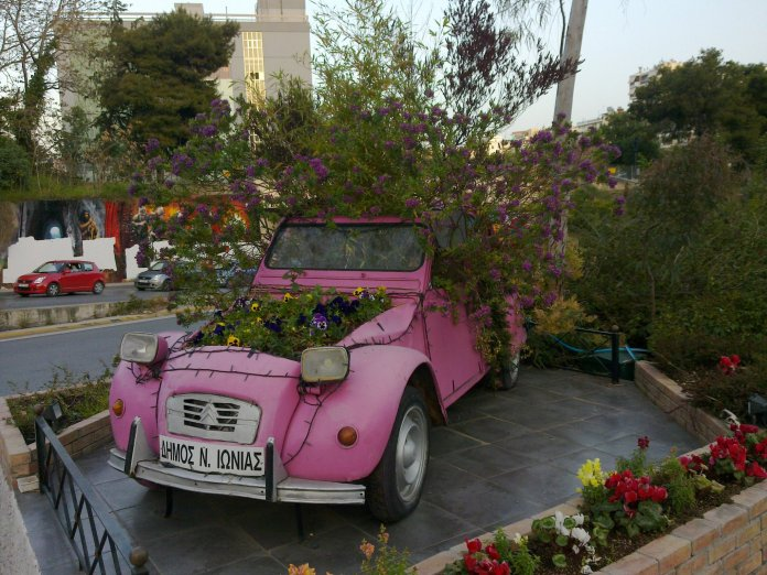 How to pimp your car – In Nea Ionia, Athens, Greece