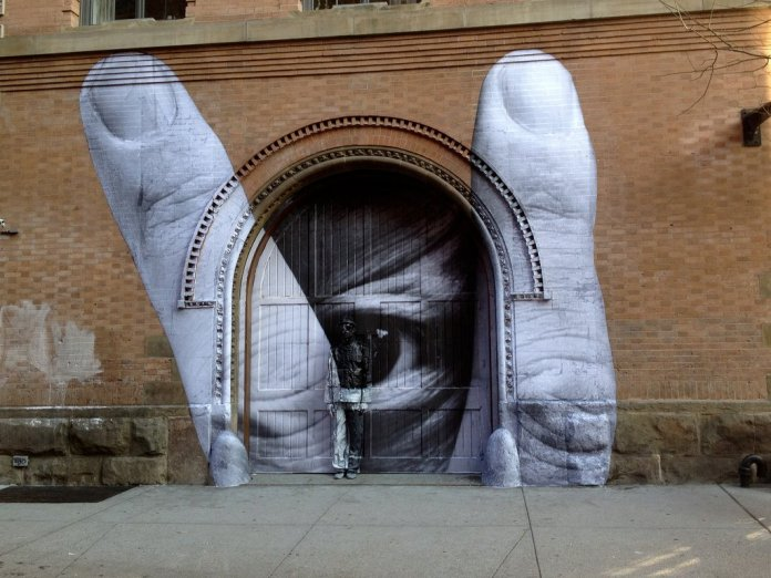 Street Art with JR and Liu Bolin