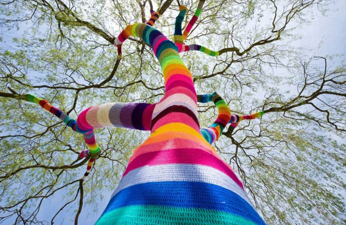 Yarn Bombing – By B-Arbeiten