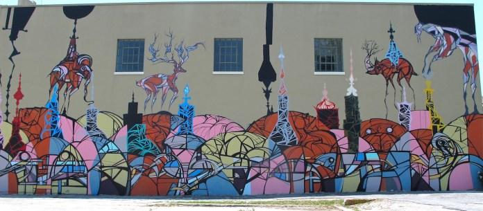 Street Art by Daniel Anguilu in Houston, Texas, USA