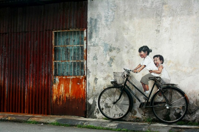 Bicycle – In Penang, Malaysia