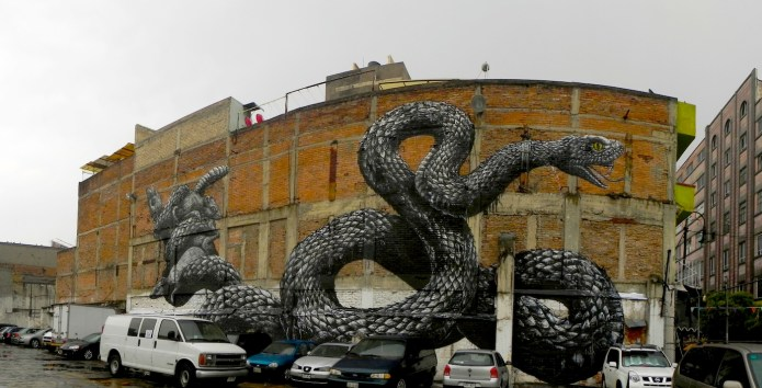 By ROA in Mexico City