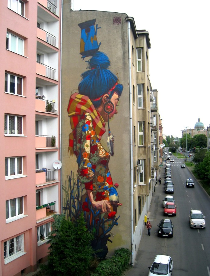 By Sainer from Etam Crew – On Urban Forms Foundation in Lodz, Poland