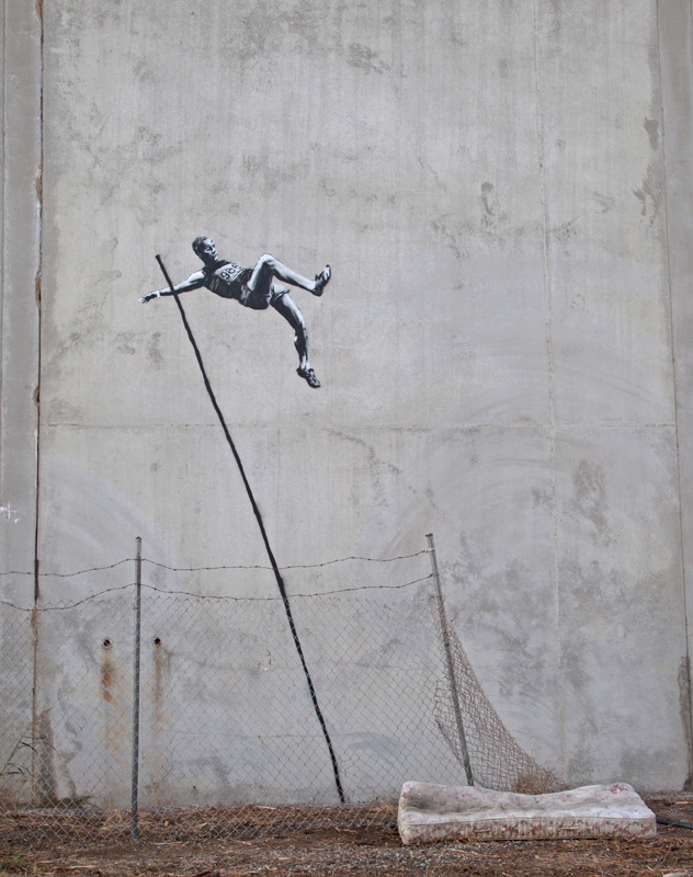 OS 2012 – By Banksy in London, England